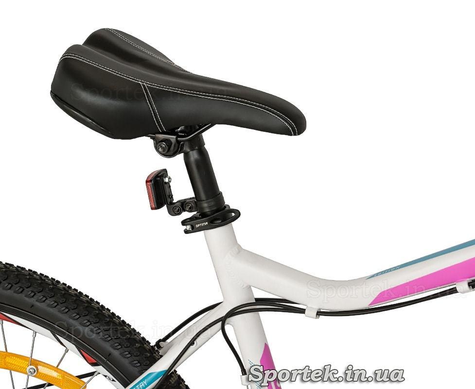 Седло горного женского велосипеда Optimabikes Alpina DD