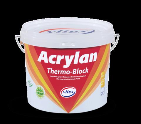Теплоизоляционная акриловая краска Acrylan