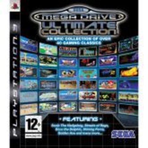 SEGA Mega Drive Ultimate Collection (PS3, английская версия)