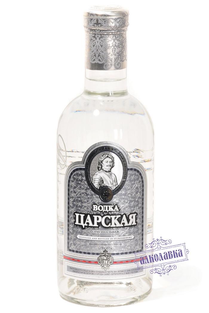 Русская водка Царская оригинальная 1л 40%