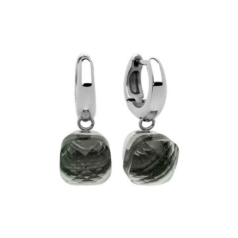 Серьги Firenze light grey opal 300141 BW/S
