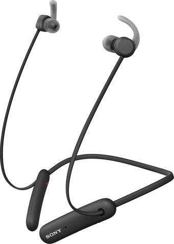 WI-SP510B беспроводные Bluetooth наушники Sony, цвет черный