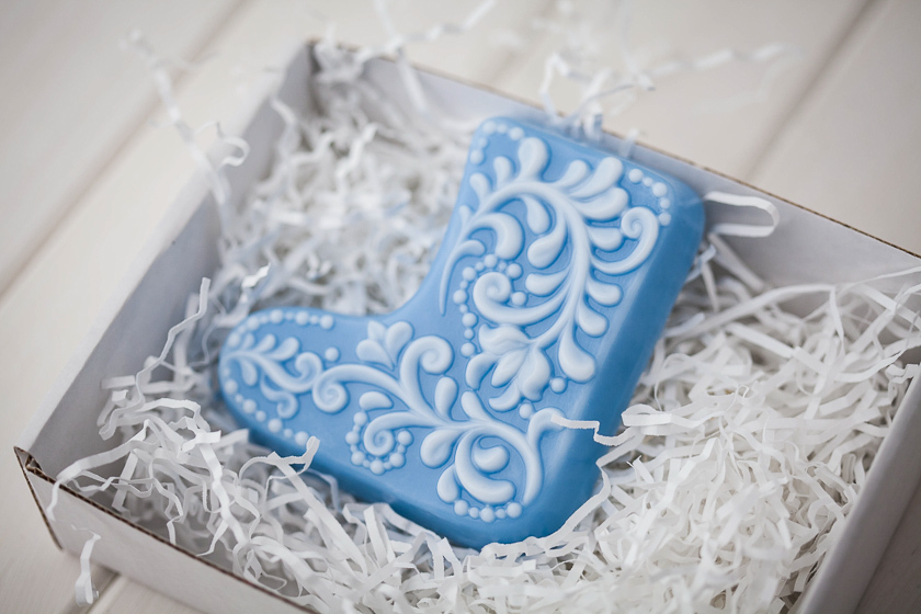 Форма для мыла ручной работы Валенок