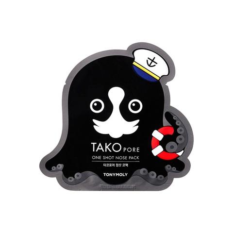 Tony Moly Tako Pore One Shot Nose Pack патч от черных точек