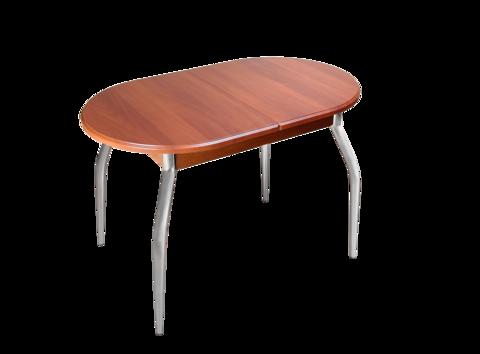 Обеденный раздвижной стол овальный