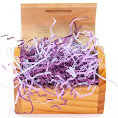 Наполнитель бумажный Микс, Фиолетовый, 50 гр.