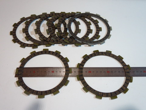 диски сцепления 7+1шт Suzuki GSF650 Bandit 650 GSX750 GSX600 Katana
