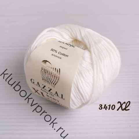 GAZZAL BABY COTTON XL 3410XL, Белый