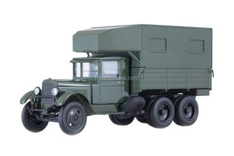 ZIS-6 PARM mobile repair shop dark green 1:43 Nash Avtoprom