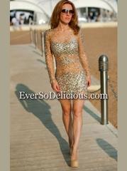 Анастасия в платье Jovani 7757