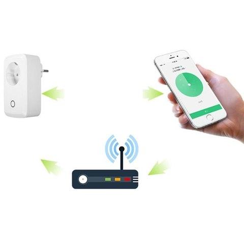 Умная Wi-Fi розетка поддержка IOS и Android  дистанционное управление бытовыми приборами