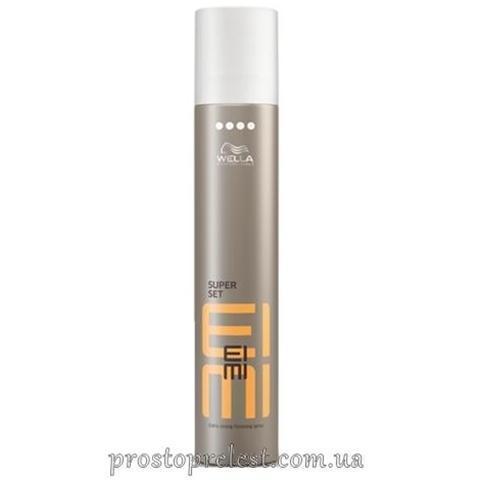 Wella EIMI Super Set - Лак для волосся екстрасильної фіксації
