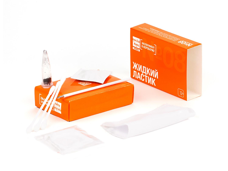 Состав набора №08 - Жидкий ластик - Эксперимент в коробочке - Простая Наука