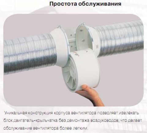 Канальный вентилятор Soler & Palau TD  250/100