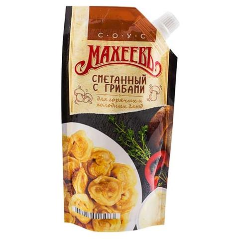 Соус майонезный МАХЕЕВЪ Сметанный с грибами 200 г ДПДЗ РОССИЯ