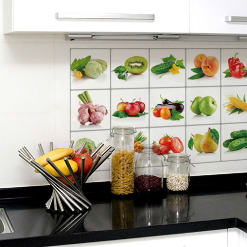 Товары для кухни Наклейка на плитку или стену на кухне Kitchen Sheet kitchen-sheet-nakleika-falgirovanaya.jpg