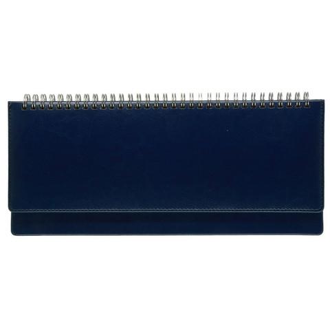 Планинг недатированный Альт Sidney Nebraska искусственная кожа 64 листа синий (305х130 мм)