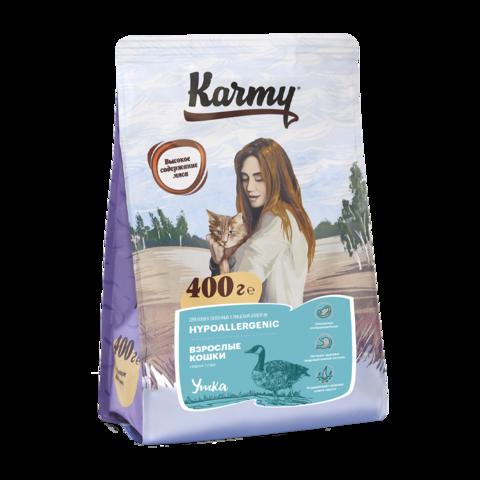 Karmy Hypoallergenic Сухой корм для кошек склонных к аллергии с уткой