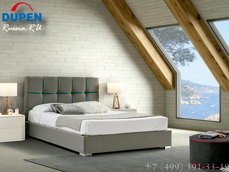 Кровать Dupen (Дюпен) 650 VERONICA TURQUOISE