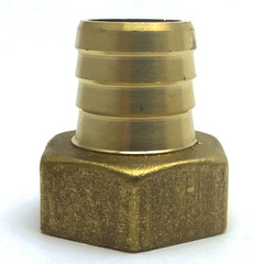Штуцер латуннный 1/2 В  18 мм.