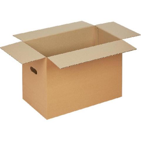 Короб картонный с ручками 560x320x400 T24 бурый 10 шт./уп