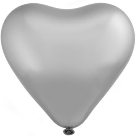 Сердце Хром Сатин Platinum 12