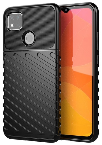 Ударопрочный чехол на Xiaomi Redmi 9c, серия Onyx от Caseport