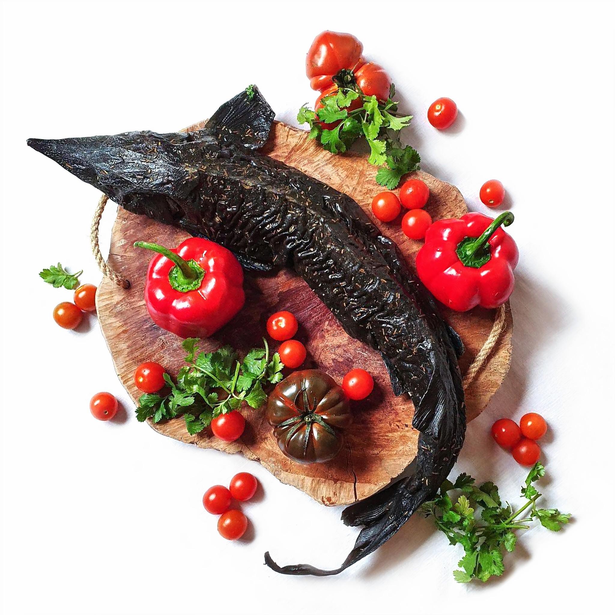 Esturión ahumado en caliente (2 pescados)
