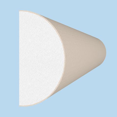 Профиль из пенопласта с покрытием