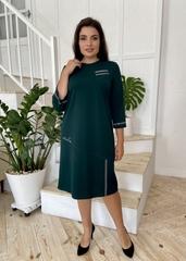 Феєрія. Стильна красива сукня для жінок. Смарагд