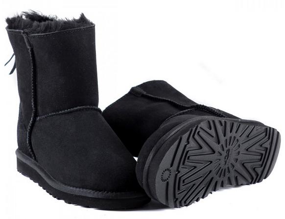 UGG Zip Mini Black