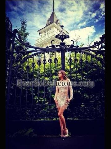 Наталья в платье Jovani 7757