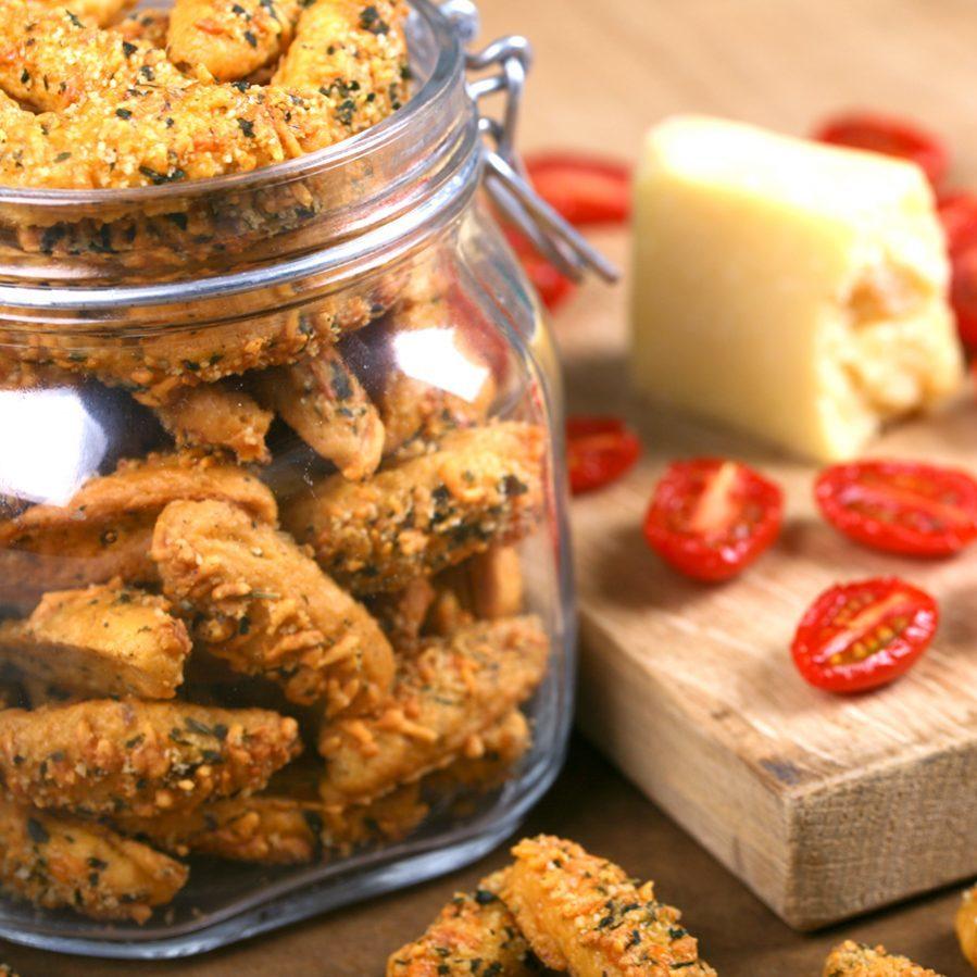 Печенье Buiteman с сушеными томатами и сыром глостер 75г