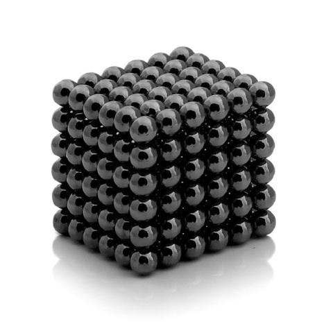 Неокуб (Neocube) Черный 216 шариков (5 мм )