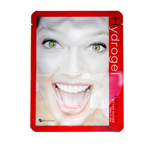 Beauugreen Silky V-Line Hydrogel Mask гидрогелевая моделирующая маска для восстановления контуров лица