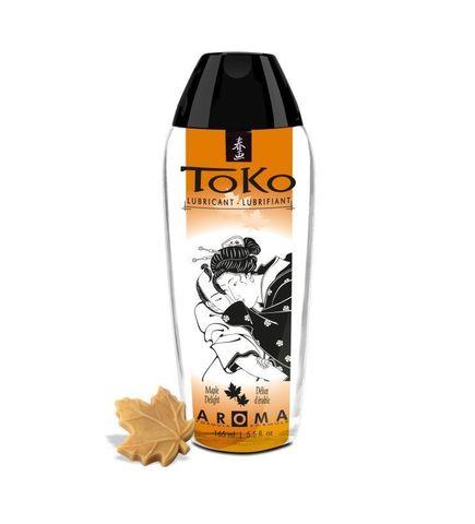 Интимный гель TOKO Maple Delight с ароматом кленового сиропа - 165 мл.