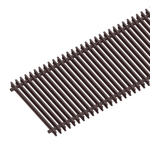 Решётка рулонная для внутрипольного конвектора - itermic SGZ-40-3800/Shamp