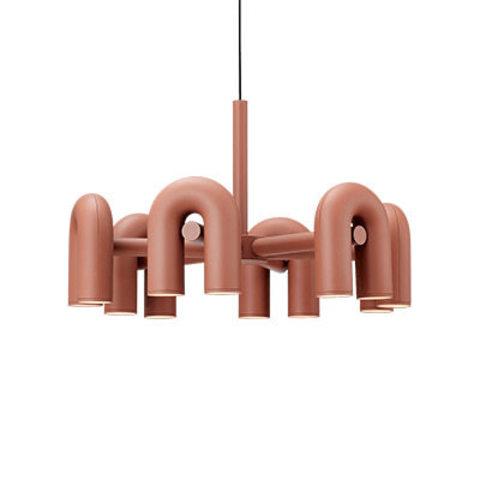 Подвесной светильник Cirkus by AGO Lighting (6 плафонов/розовый)