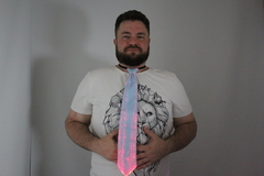 Светящийся галстук