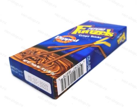 Соломка в шоколадной глазури Pepero Funzels, Корея, 30 гр.