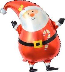 К Дед Мороз в красном колпачке, 29''/74 см, 1 шт.