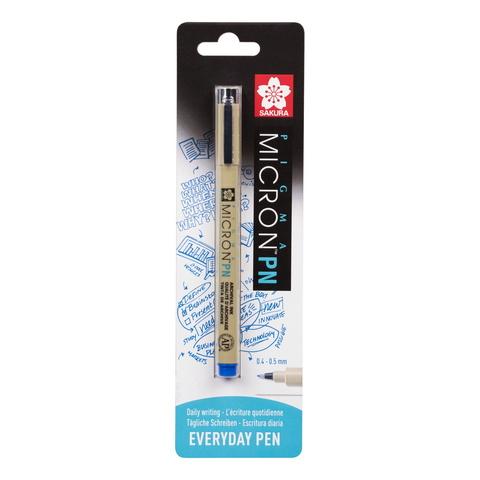 Ручка капиллярная Pigma Micron PN 0.4-0.5мм Синий блистер