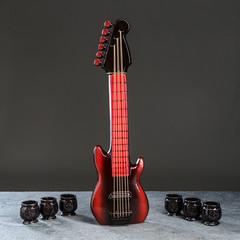 Набор для коньяка «Гитара» 1 л/0,05 л, фото 1