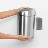 Мусорный бак Touch Bin (3 л), артикул 378645, производитель - Brabantia, фото 4