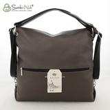 Сумка Саломея 387 бронза + черный (рюкзак)