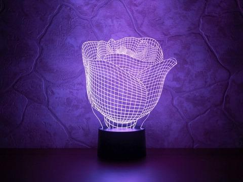 Art-Lamps Бутон розы