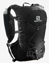 Рюкзак для бега Salomon Agile 12 Set Black