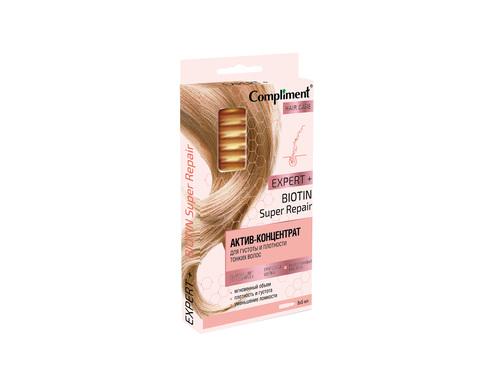 Compliment Expert+ АКТИВ-КОНЦЕНТРАТ Для густоты и плотности тонких волос