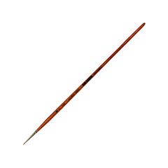 Кисть из волоса колонка круглая, длинная ручка,
