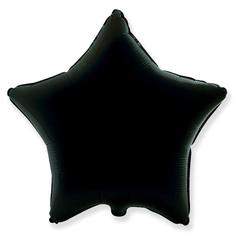 Шар звезда черный